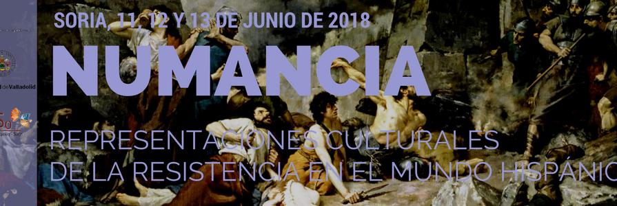 """congreso internacional """"Numancia: representaciones culturales de la resistencia en el mundo hispánico"""""""