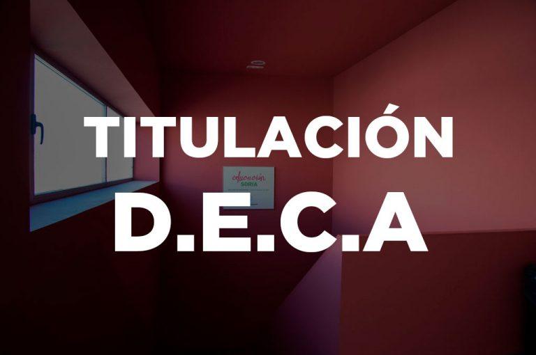 Titulación Profesor/a de Religión (DECA)