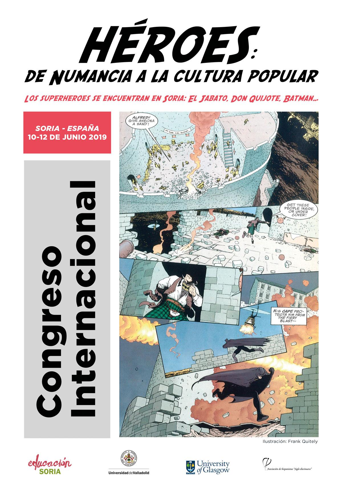 Congreso internacional HÉROES: de Numancia a la cultura popular